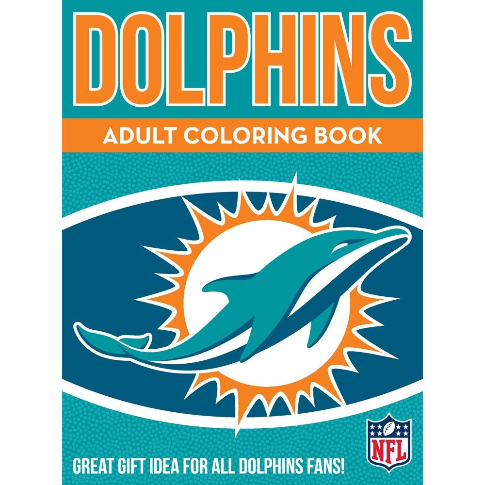 Mlb Miami Dolphins In The Sports Zone Adult Coloring Book