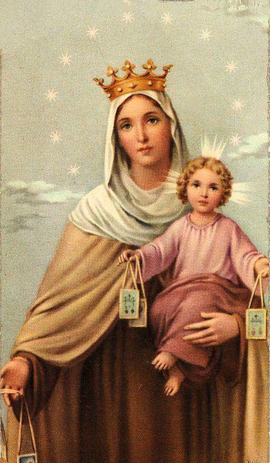 56 ideas de Virgen Del Carmen en 2021   virgen, imágenes religiosas, virgen  maría