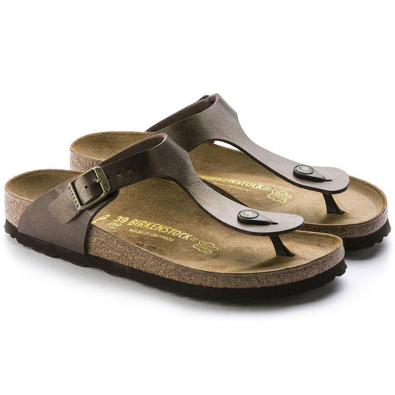 Gizeh Birko Flor Graceful Pearl White Birkenstock Womens Birkenstocks Sandals