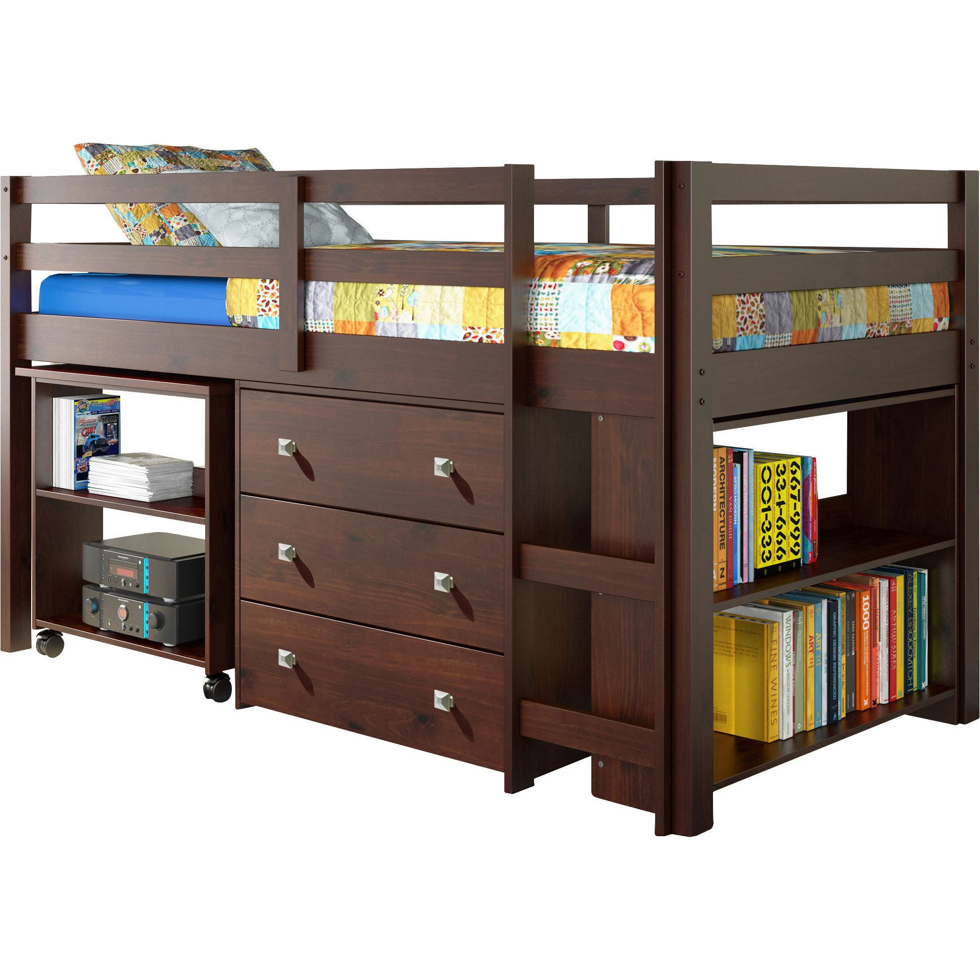 Customer Image Zoomed Low loft beds, Twin loft bed, Bunk