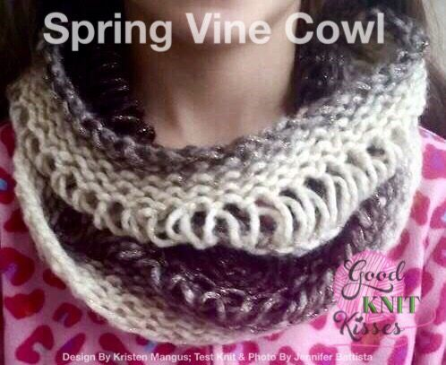 Drop Stitch Cowl Becauseitting Pinterest Stitch Loom