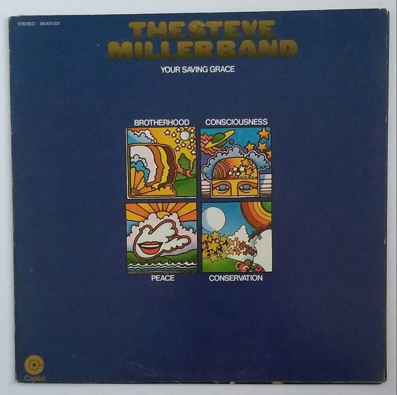 Steve Miller Band - Your Saving Grace 1969 vinyl stereo album SKAO-331