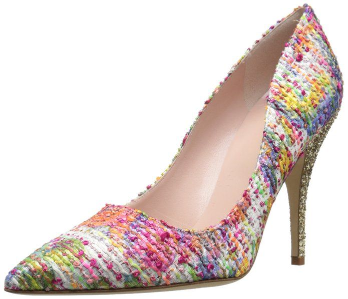 kate spade new york Women's Licorice Dress Pump, Multi. affiliate link to Amazon: http://amzn.to/1UcCwmU
