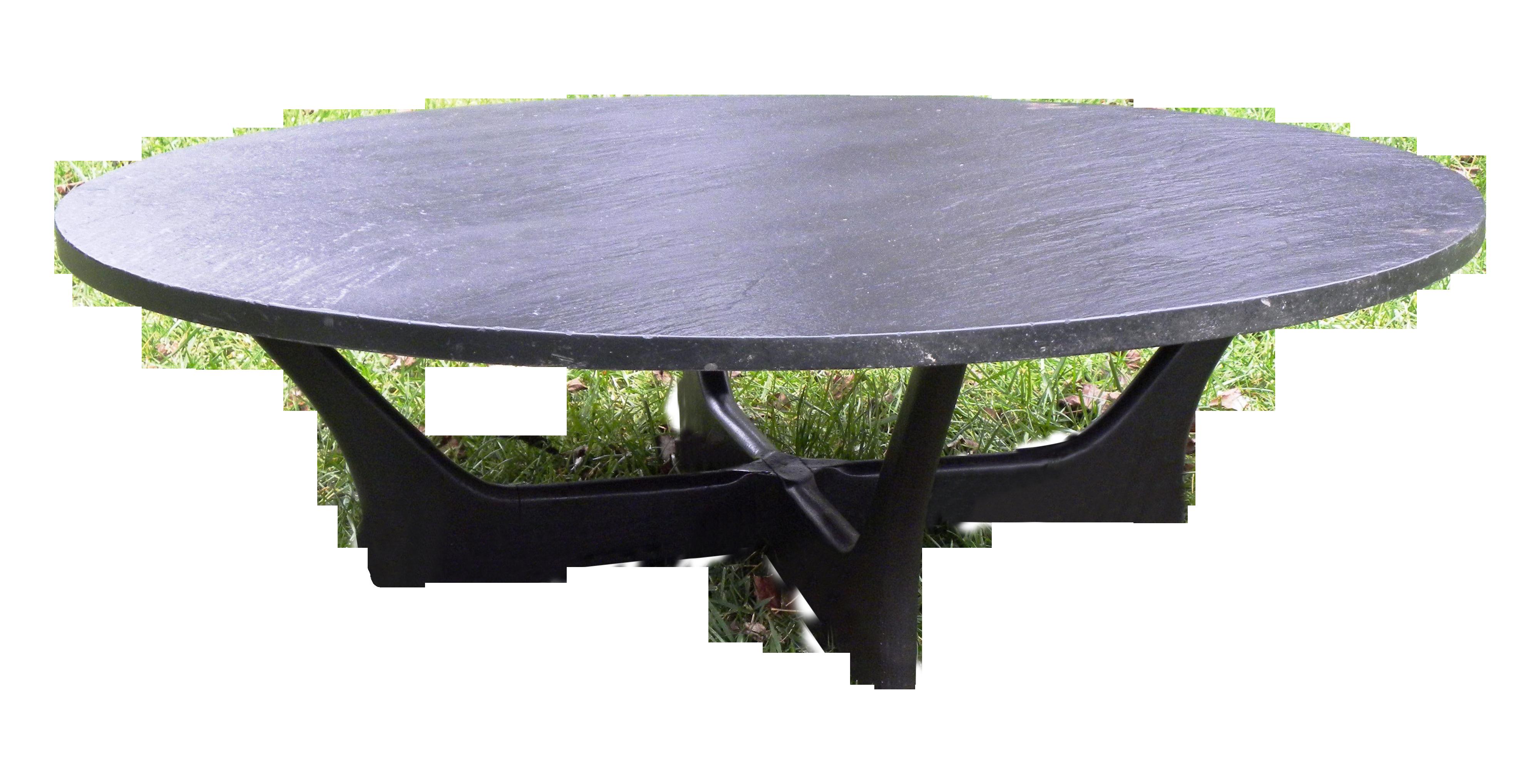 Vintage Mid Century Slate Coffee Table Slate Coffee Table Coffee Table Mcm Table [ 2038 x 4000 Pixel ]