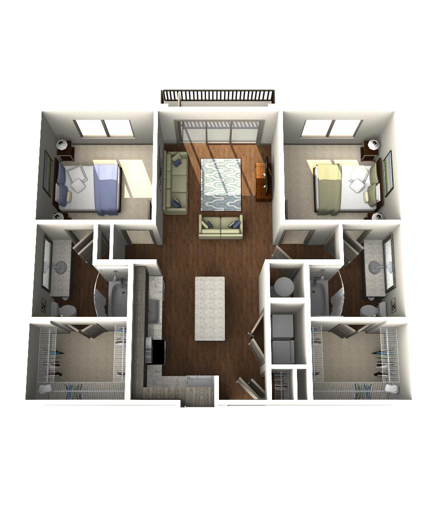 Floor Plans  Crescent Westshore  Aldy Milton  Pinterest Magnificent 3 Bedroom Apartment Design Design Decoration
