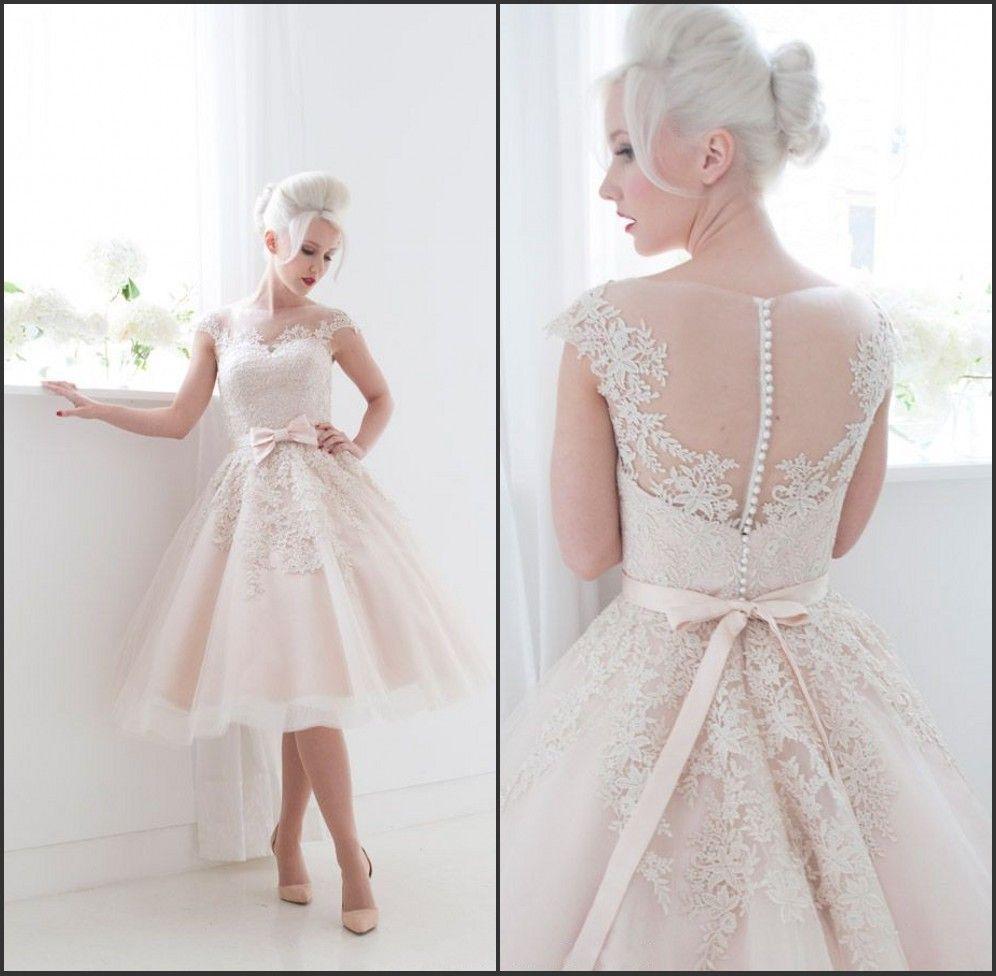 Popular short wedding dresses pinkbuy cheap short wedding dresses