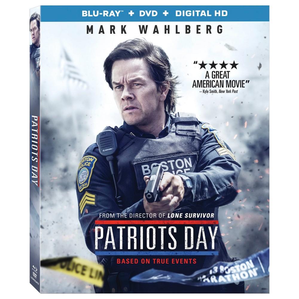 Patriots Day Blu Ray Dvd Digital Mark Wahlberg Patriots Patriots Day