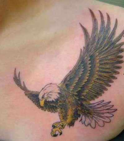 07bb529fef As Tatuagens de Águia são uma das preferidas dos homens e vem ganhando mais  adeptos femininos
