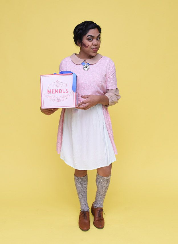Agatha from Grand Budapest Hotel This Is How BuzzFeed New York - halloween costume ideas for the office