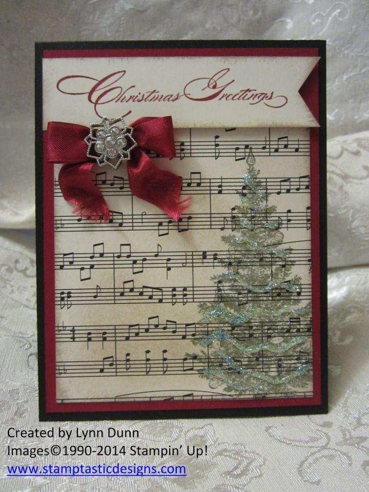 pinterest stampin up! christmas | ... Christmas Card Design ...