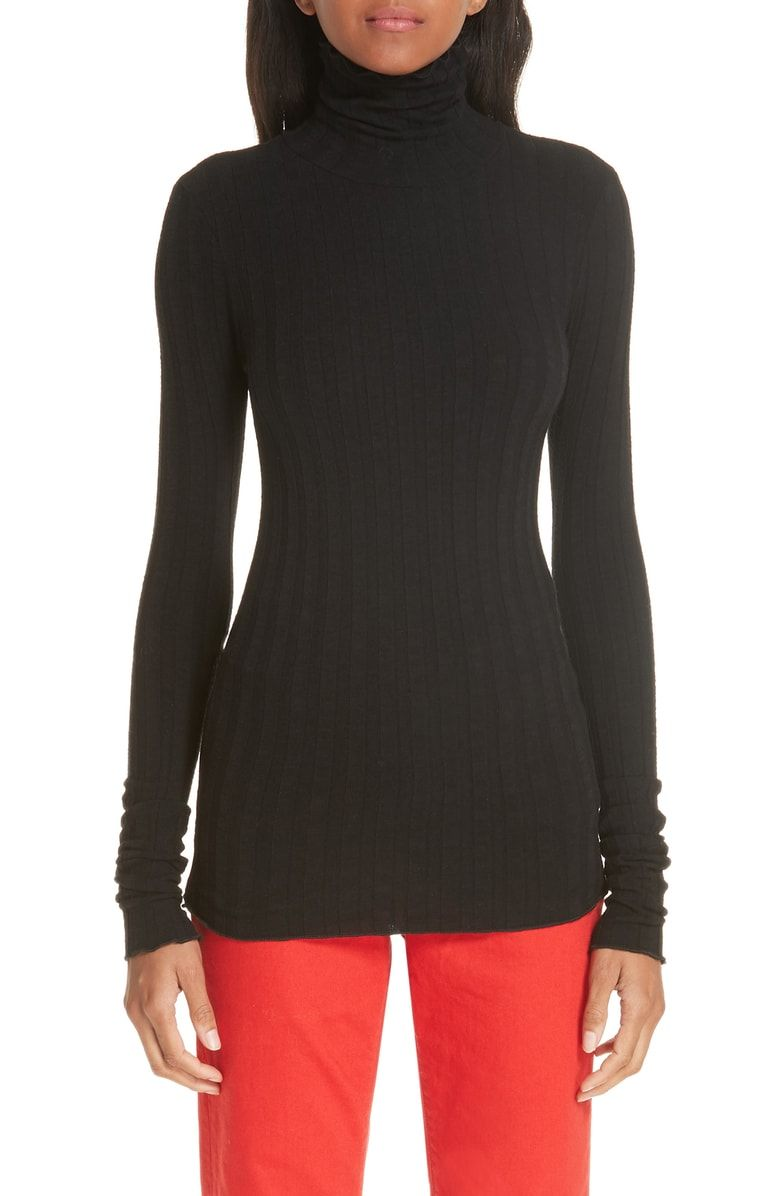 f1e01654d6e993 Free shipping and returns on Simon Miller Ribbed Turtleneck at  Nordstrom.com. Wide ribbing lends subtle depth to a figure-skimming  turtleneck with a ...