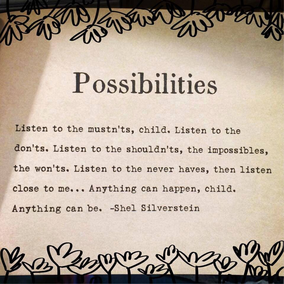 Shel Silverstein Poem For My Office Quote Board For The School