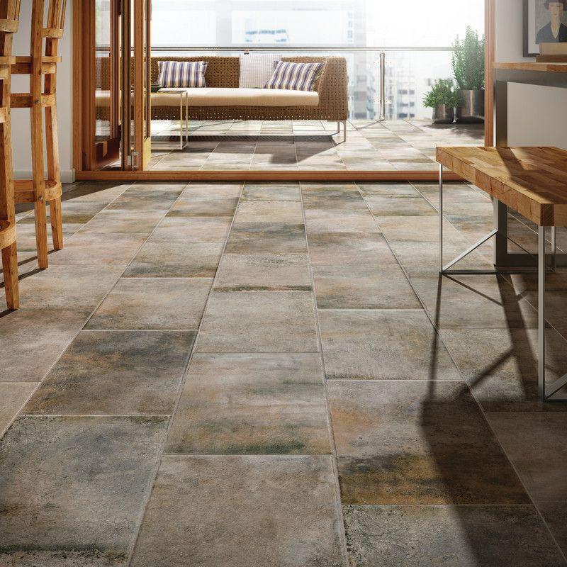 Mudroom & Entryway Ideas | Foyer | Cotto Contempo Wall Street Floor ...