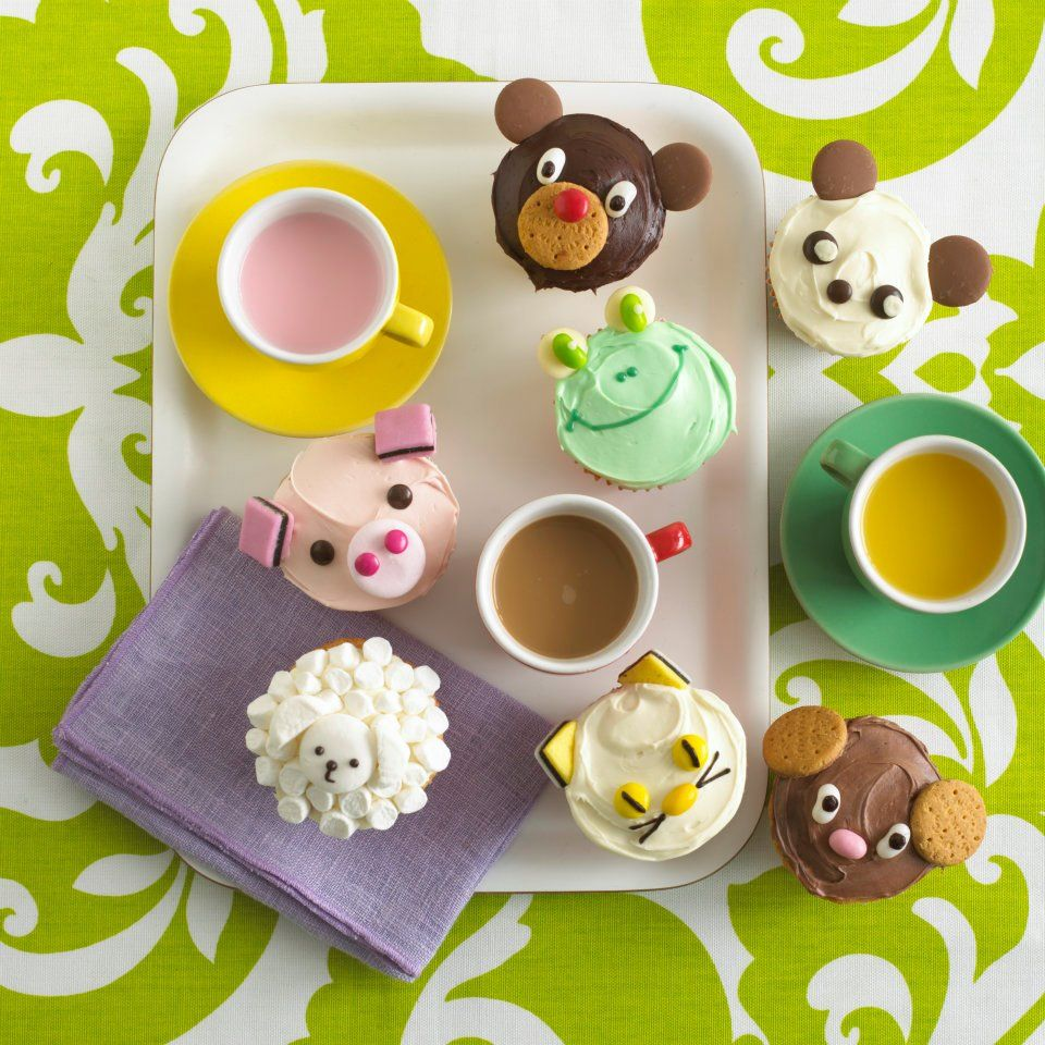 Animal Cupcakes by Annabel Karmel Recipe available on Annabels App