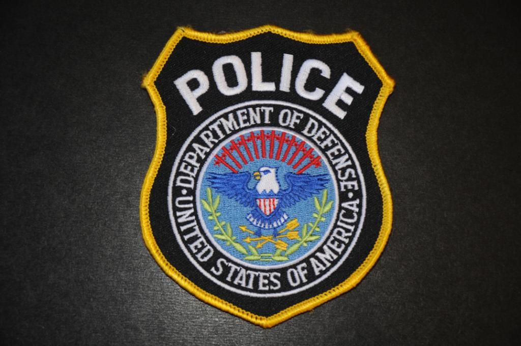 United States Department of Defense Police Patch (With
