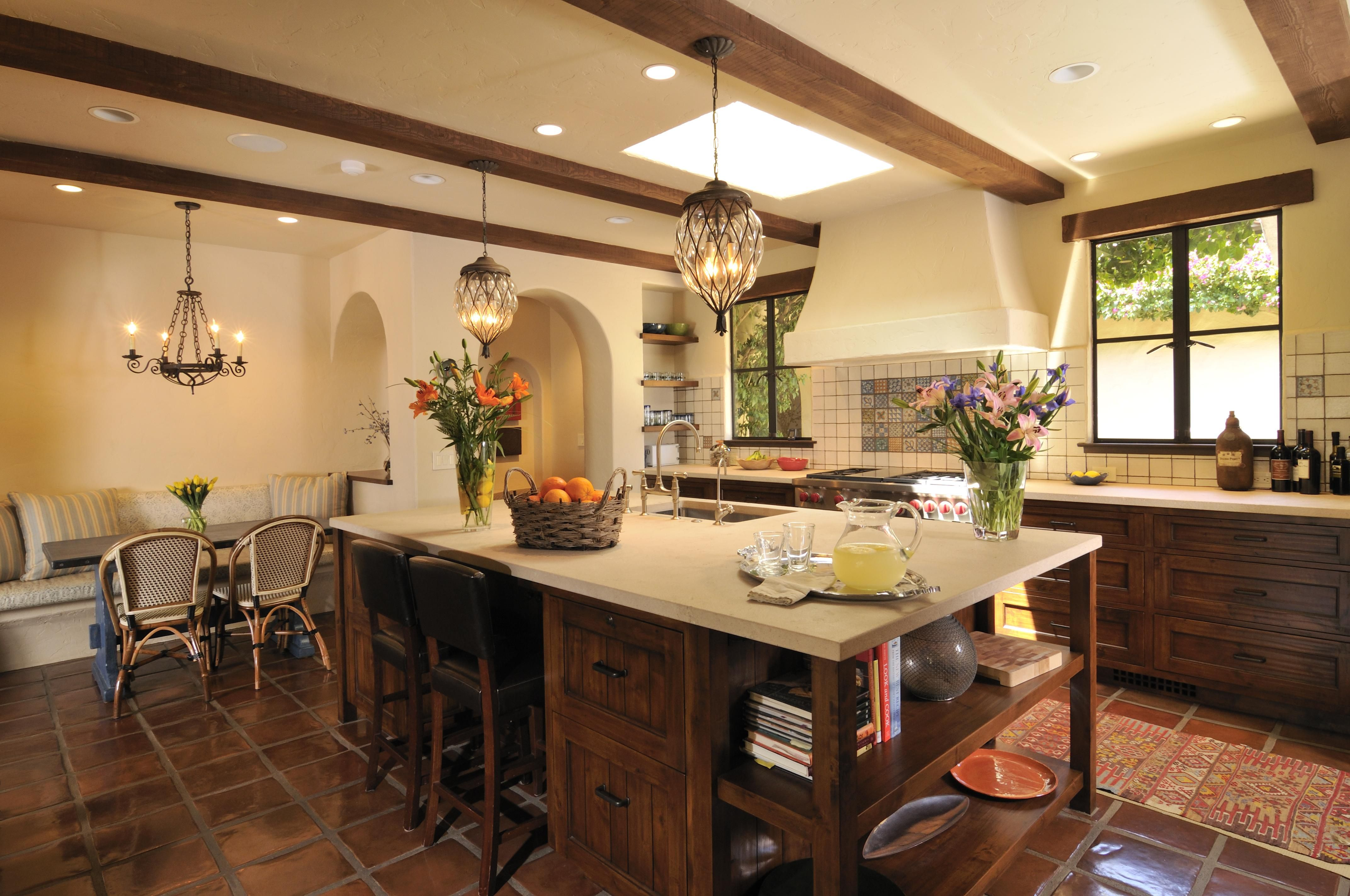 spanish kitchens #4 - spanish colonial revival kitchen