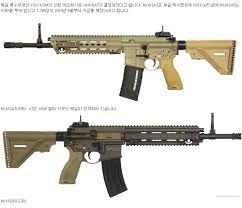 Hk416a7 Vs Hk416a5 Hk416 Guns Weapons Ve Hello To Myself