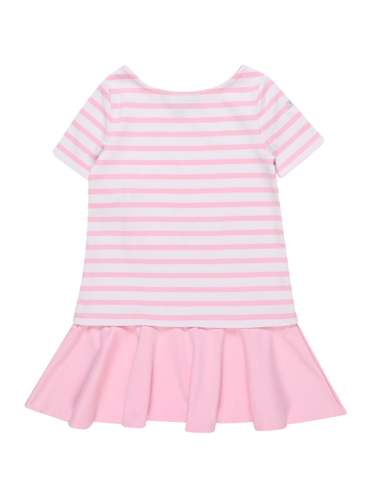 Polo Ralph Lauren Kleid Ponte In Pink Weiss Kleider Polo Ralph Lauren Ralph Lauren