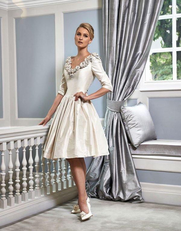 Beautiful Wedding Dresses For Older Brides - Ana Torres wedding ...