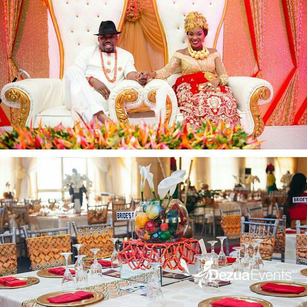 Nigerian traditional wedding decor ideas  Love these decorations  Wedding preparations  Pinterest  Wedding