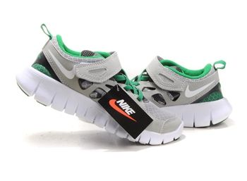 detailed look be57a 72ab4 Kids Nike Free Run 2 Gray Green Shoes For Running #Fashion ...