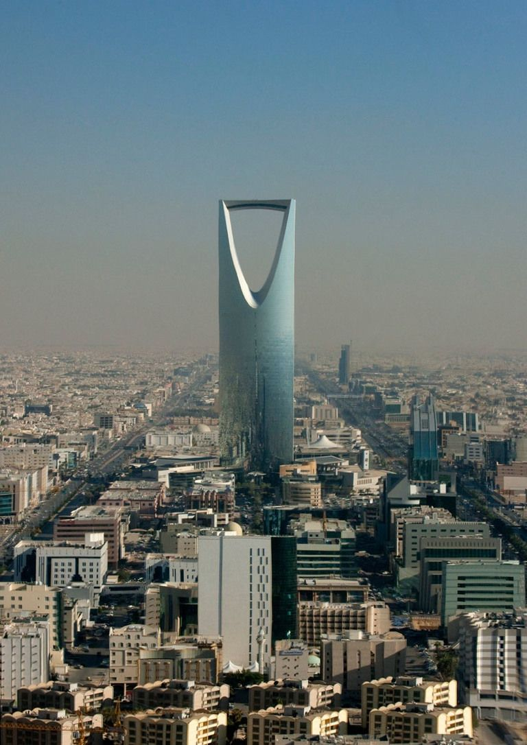 Kingdom Tower Riyadh Saudi Arabia Cultural Architecture