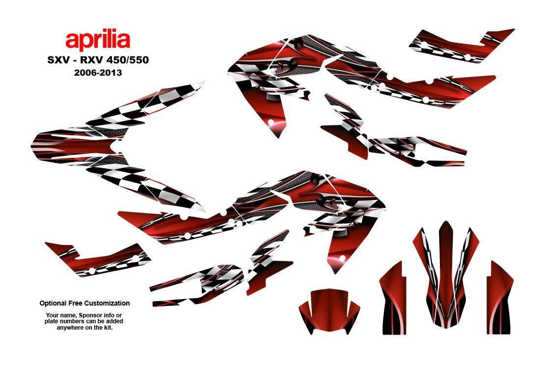 aprilia sxv rxv 450 550 2006 13 graphic