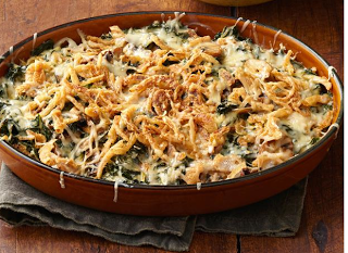 Kale Gratin!!  It will make your family say oooh mommy instead of umami!  Great for a new Thanksgiving dish!  Teaching Proverbs 31 to Titus 2: Scrumptious Sides....