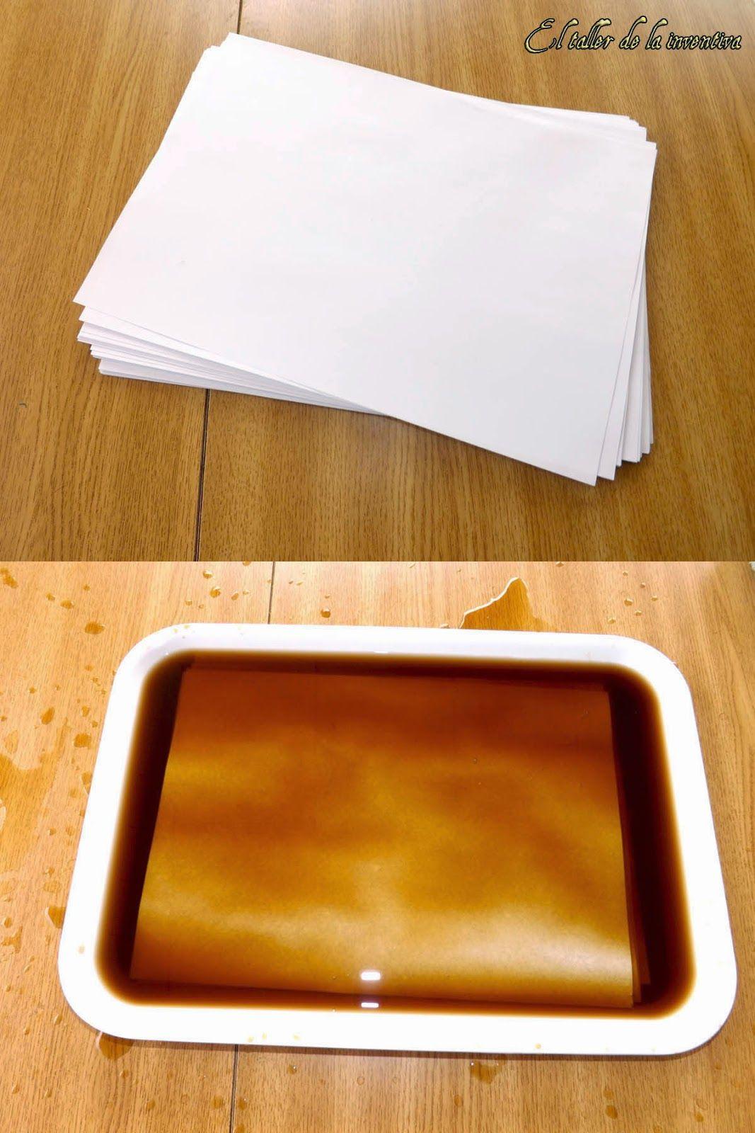 envejecido hojas de papel