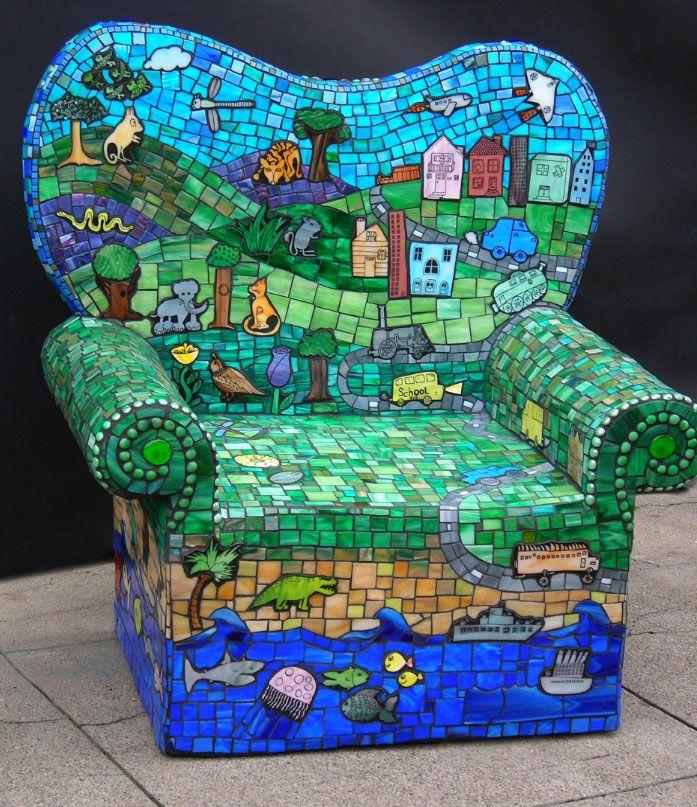 20 Mosaic Garden Decoration Ideas That Will Blow Your Mind   Garden Lovers  Club