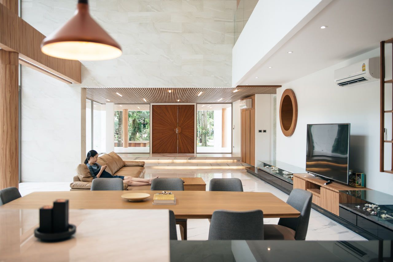 A Modern House In Thailand For A Fisherman Family With Images