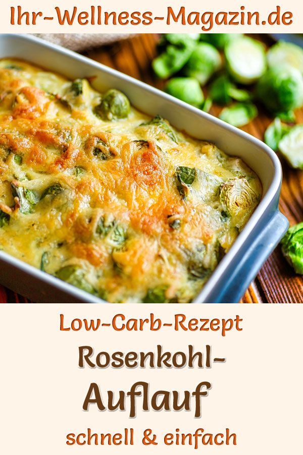 Photo of Brussels sprouts casserole – hearty, healthy low-carb recipe