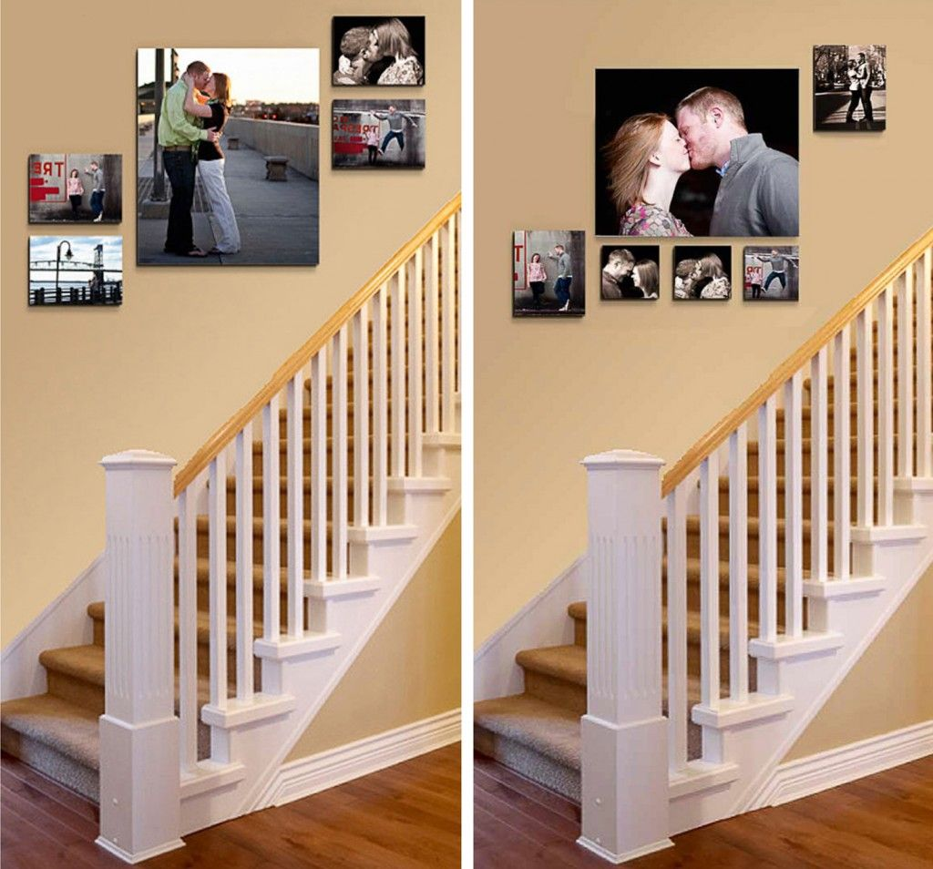 23 Unique Painted Staircase Ideas for Your Perfect Home ... on Creative Staircase Wall Decorating Ideas  id=12686