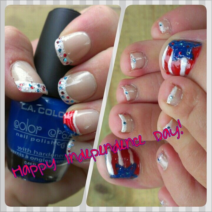 Independence Day Nails :)