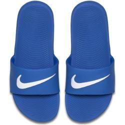 Pantuflas para niños talla grande / talla grande Nike Kawa – Azul Nike