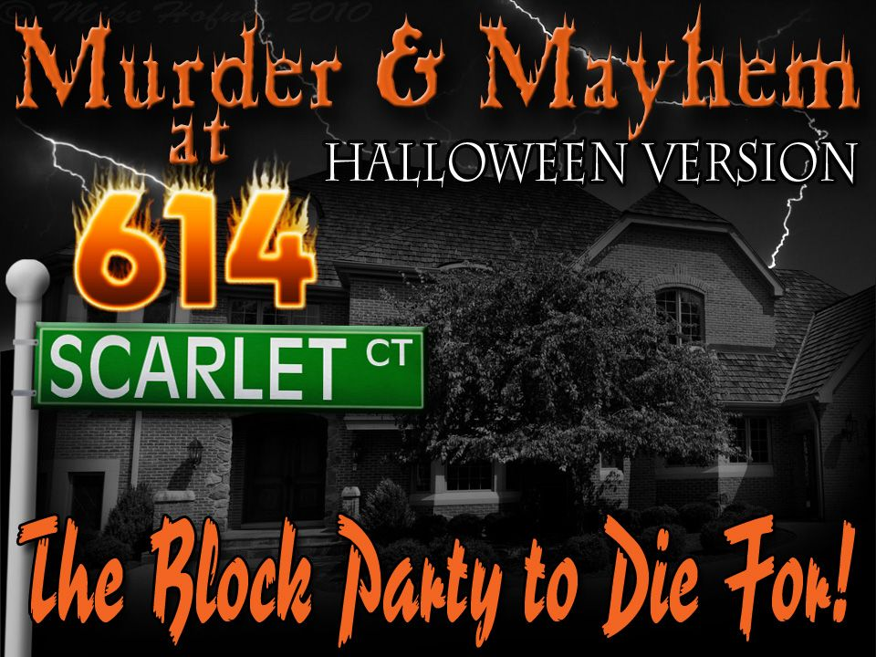 17++ Murder mystery dinner game at home collection