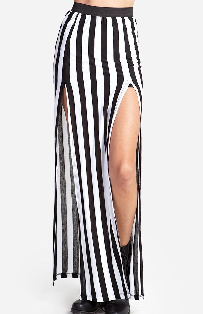 Striped Maxi Skirt - DailyLook
