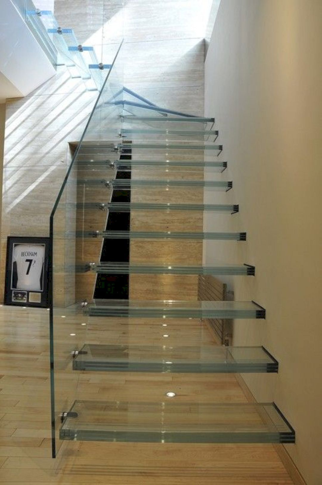 15 Awesome Floating Staircase Ideas Glass Staircase Modern