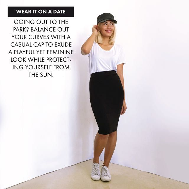 Wearing pencil skirt casually dating