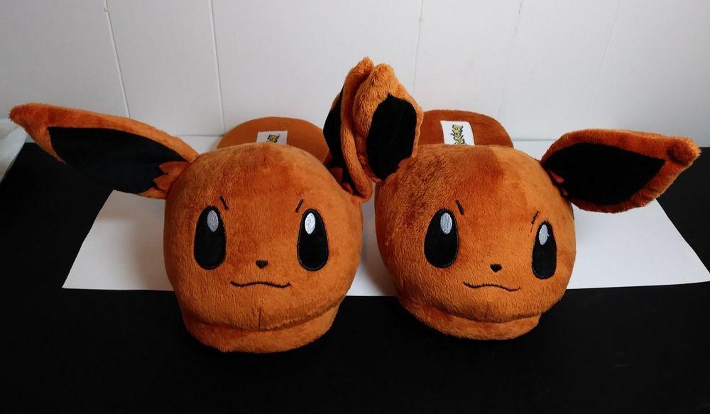 Pokemon Eevee Plush Slippers Pokemon