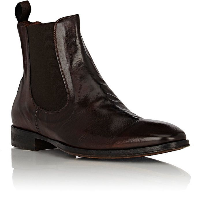 d7907e8979 ... Washed Leather Chelsea Boots. I normally wear 9.5 10 but I bought these  in size 9 and they fit perfectly. Barneys branded but made by Harris (I  think).