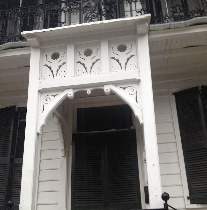 charming portico
