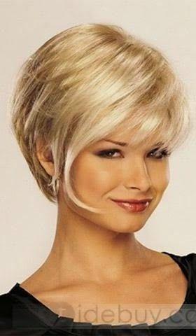 Coupe cheveu court blond