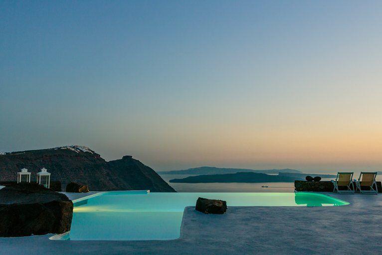 Aenaon villas, Santorini, 2009
