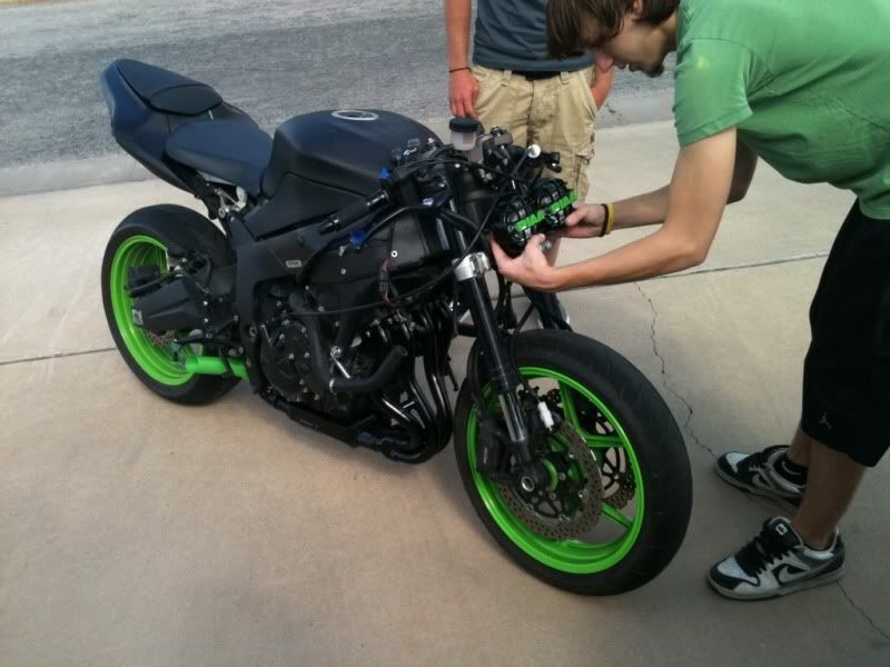 ZX6R Fighter er er er er - Custom Fighters - Custom