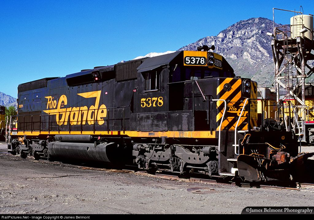 Image result for rio grande railroad sd40 diesel photos