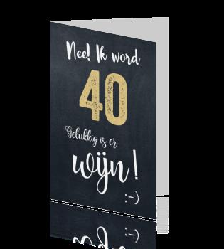 Uitnodiging Feestje 40 Jaar