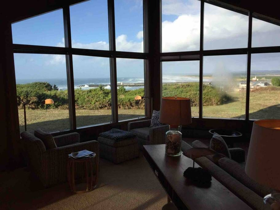 Super Bandon Beach House On Bluff Overlooking Ocean Houses For Download Free Architecture Designs Scobabritishbridgeorg