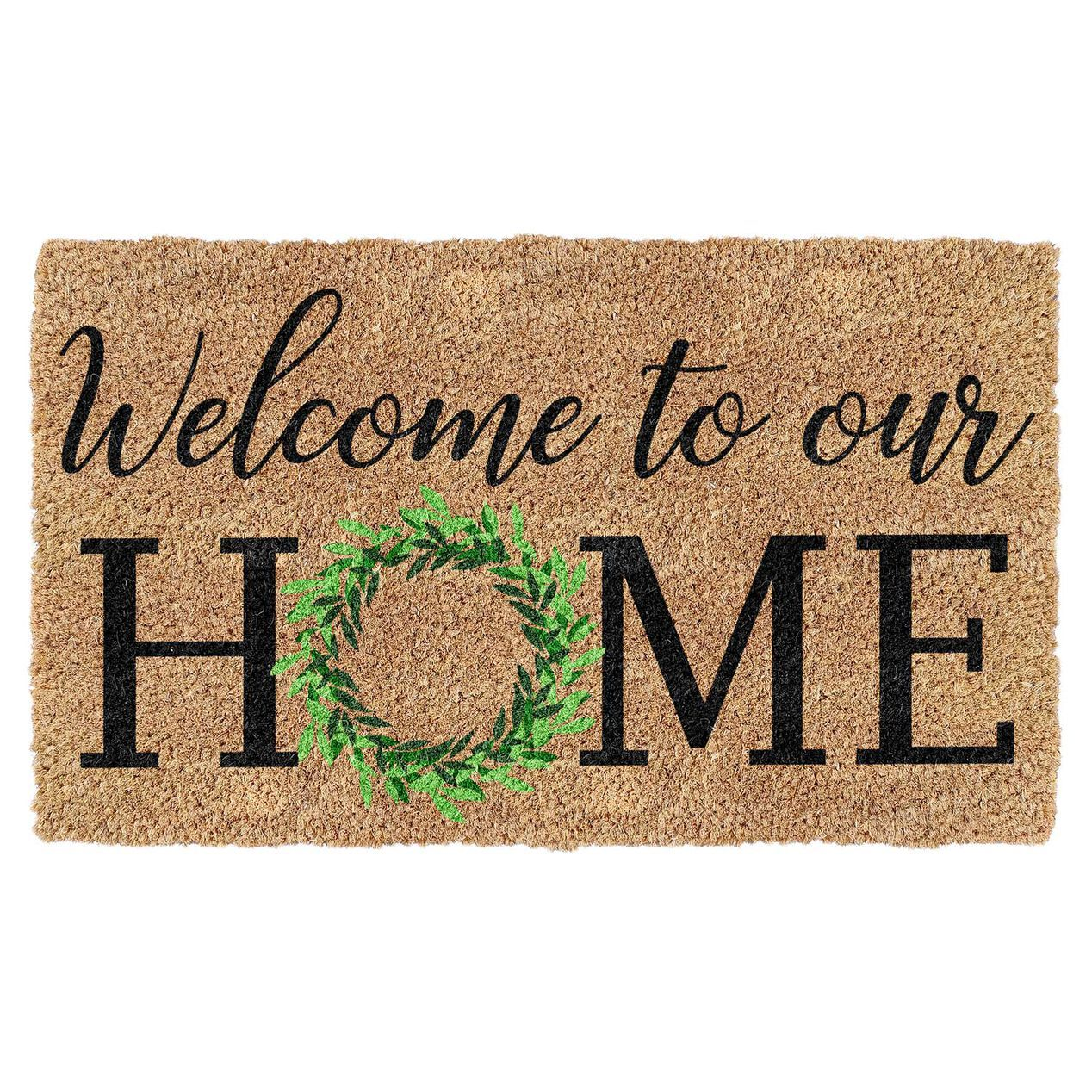 WELCOME TO OURHOME COIR 18X30   At Home