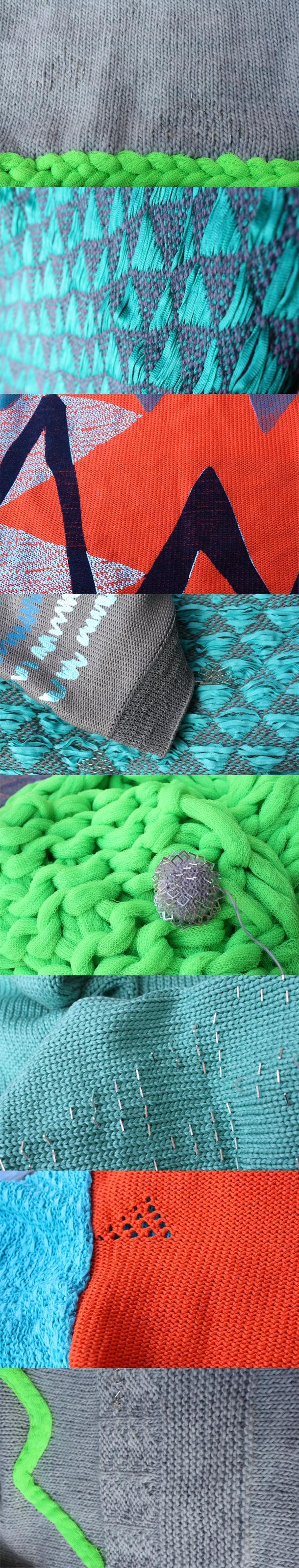 Marie Leiknes - Knit Textures A/W 2012